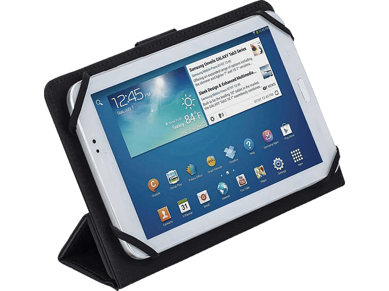 RIVACASE 3112 tablet case 7 Black laptop  tablet  computing  tablet   ipad θήκες tablet