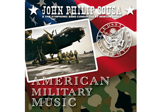 John Philip Sousa, The Symphonic Band - American Military Music - (CD)