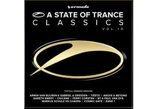 VARIOUS - A STATE OF TRANCE CLASSICS 10 - (CD)