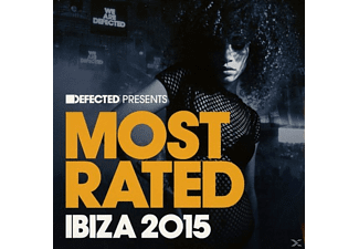 VARIOUS - Defected Pres. Most Rated Ibiza2015 - (CD)