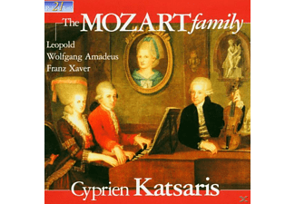 Cyprien Katsaris - The Mozart Family - (CD)