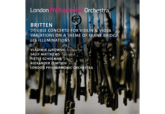 The London Philharmonic Orchestra, Jurowski/Schoeman/Zemtsov/BR SO - Doppelkonzert/Variationen - (CD)