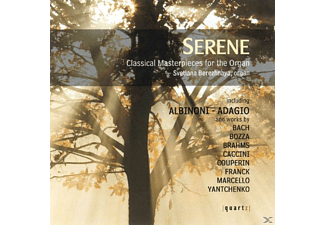 Svetlana Berezhnaya - Serene-Masterpieces For The Organ - (CD)