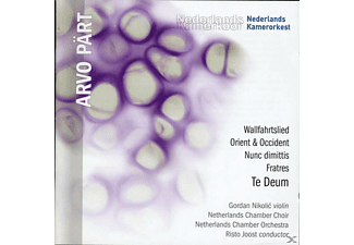Netherlands Chamber Choir, Netherlands Chamber Orchestra - Te Deum / Fratres / Wallfahrtslied [CD]