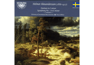 Uppsala Chamber Orchestra, Alexandersson - Alexandersson Sinf.2 - (CD)