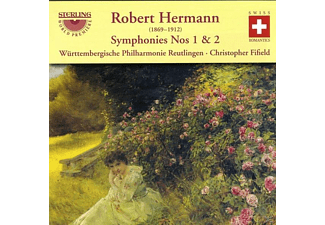 WÜRTENB.PHILH. & FIFIELD, Hermann - Hermann Sinfonien 1+2 - (CD)