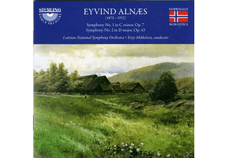 Eyvind & Latviannat So Alnaes, Alnaes - Alnaes Sinf.1+2 - (CD)