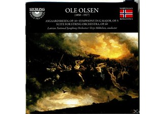 Mikkelsen Latvian National Symphony Orchestra, Olsen - Olsen Sinf.1/Suite For String Orchestra - (CD)
