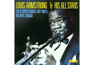 Louis (& His All Stars) Armstrong, Louis Armstrong & The All Stars - Wintergarden/Blue Note - (CD)
