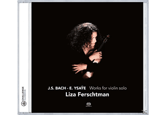 Liza Ferschtman - Works For Violin Solo - (SACD)
