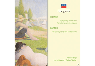 Pascal Roge, The Cleveland Orchestra - Sinfonie in d-Moll/Sinfonische Variationen/Rhaps. - (CD)