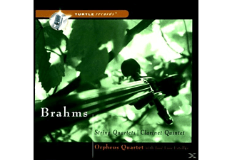 Orpheus Quartet - String Quartets : Clarinet Quintet - (CD)