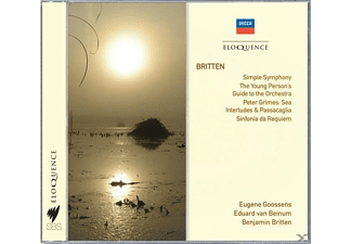 VARIOUS - Simple Symphony,4 Sea Interlude,op.33a from Pet - (CD)