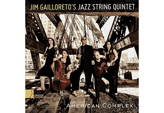 Jim Gailloreto's Jazz String Quarte - American Complex - (CD)
