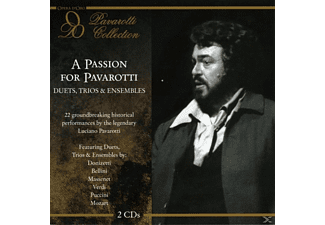 Luciano Pavarotti - A Passion For Pavarotti-Duets,T - (CD)