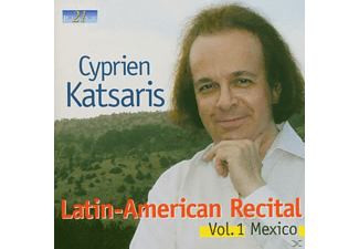 Cyprien Katsaris - Latin American Recital Vol.1 - (CD)