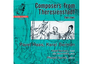 Berman, Holocek, Charvat, Berman/Holocek/Charvat - Composers From Theresienstadt 1941-1945 - (CD)