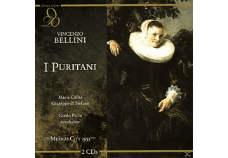 Callas, Stefano, Campolonghi,, Orchestra & Chorus Of The Teatro De Bellas Artes - I Puritani - (CD)