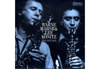 MARSH,WAYNE/KONITZ,LEE, Lee Konitz & Warne Marsh - Two Not One - (CD)