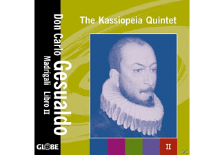 The Kassiopeia Quintet - Madrigale 2.Buch (1594) - (CD)