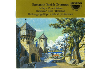 Johan Hye-Knudsen - Romantic Danish Overtures - (CD)