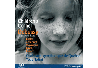 TALMI/ORCH.SYM.QUEBEC - Debussy Orchestrations/Sa-CD - (CD)