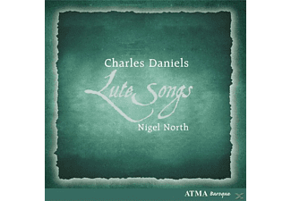 DANIELS, CHARLES/NORTH, NIGEL - Lute Songs - (CD)