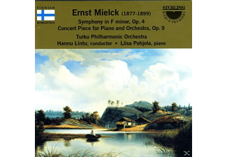 Turku Philharmonic Orchestra, Ernst Mielck - Ernst Mielck: Symphony In F Minor - (CD)