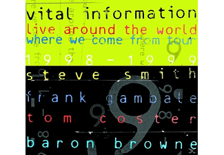 Vital Information - Live Around The World Where We - (CD)