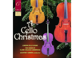 Simon/London Cello Orchestra/Choir Of Clare Coll. - Cello Christmas Sa-CD - (CD)