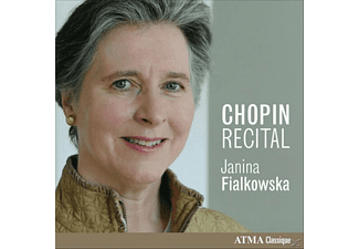 Janina Fialkowska - Chopin Piano Works - (CD)