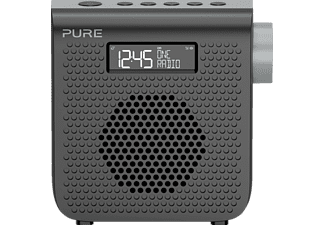 PURE One Mini Series 3 Graphite DAB+ Radio (DAB, DAB+, UKW, Schwarz)