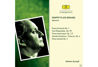 Wilhelm Kempff - Kempff Plays Brahms-Vol.2 - (CD)