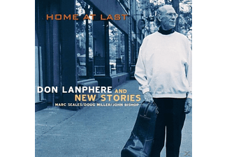Don Lanphere With New Stories - Home At Last - (CD)