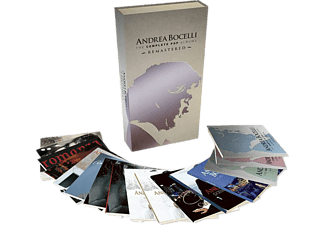 Andrea Bocelli - The Complete Pop Albums - Remastered (CD)
