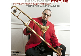 Steve Davis, Robin Eubanks, Frank Lacy, Xavier Davis, Peter Washington, Willie Jones III, Turre Steve - The Bones Of Art - (CD)