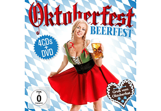 VARIOUS - Oktoberfest-Beerfest (Box-Set) [CD + DVD]