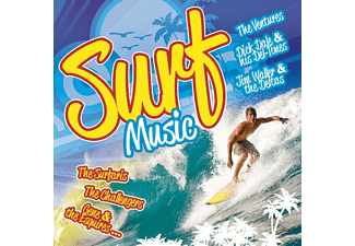 VARIOUS - Surf-Music - (CD)