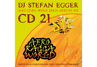 Dj Stefan Egger - Cd 21 - Afro Ragga World - (CD)