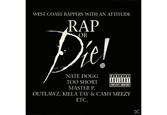 VARIOUS - Rap Or Die! West Coast Rappers With An Attitude [CD]