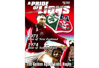 A PRIDE OF LIONS 1971 AND 1974 TOURS - (DVD)