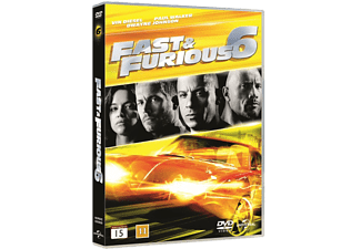 Fast and Furious 6 Action DVD