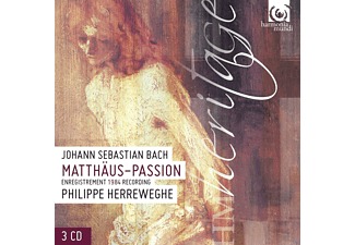 Collegium Vocale Gent, Chapelle Royale, Various - Matthäus-Passion [CD]
