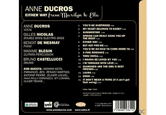 Anne Ducros - Either Way [CD]
