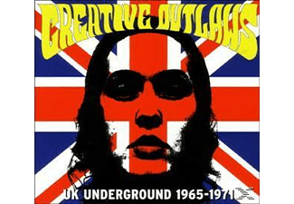 VARIOUS - Creative Outlaws-Uk Underground 1965-1971 [CD]