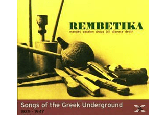 Various - Rembetika-Songs Of The Greek Underground 1925-1947 [CD]