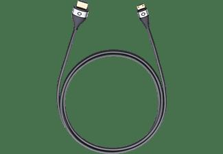oehlbach high speed hdmi kabel mit ethernet hdmi auf mini hdmi i connect hs mini high speed. Black Bedroom Furniture Sets. Home Design Ideas