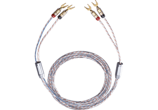 OEHLBACH 10732 TWINMIX TWO 2X6 MM² 2X2M, Kabel, 2000 mm, Glasklar