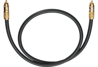 OEHLBACH Subwoofer Cinch-Kabel NF 214 Subwooferkabel 3,0m, Kabel, 3000 mm, Anthrazit