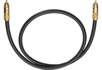 OEHLBACH Subwoofer Cinch-Kabel NF 214 Subwooferkabel 10 m, Kabel, 10000 mm, Anthrazit